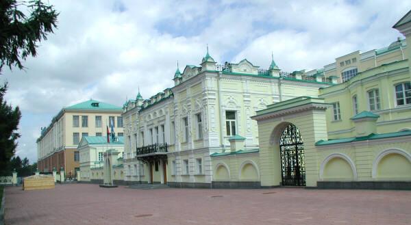 Галерея резиденции губернатора свердловской области